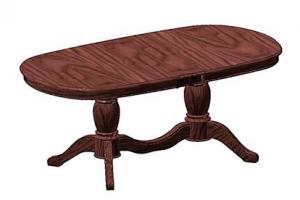 Большой овальный стол Орхидея-2 - Мебельная фабрика «Рокос»