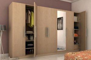 Большой распашной шкаф - Мебельная фабрика «MipoLine»