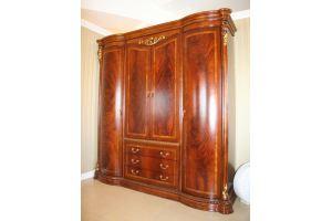 Большой шкаф Carmen в спальню - Импортёр мебели «Carvelli»