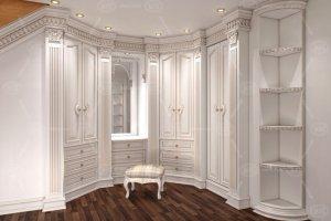 Большой шкаф-гардеробная - Мебельная фабрика «Карина»