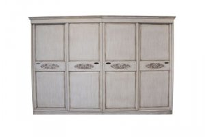 Большой шкаф из дерева - Мебельная фабрика «ШиковМебель»