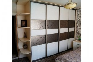 Большой шкаф-купе с угловыми полками - Мебельная фабрика «Архангельская мебельная фабрика»
