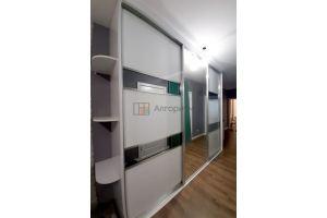 Большой шкаф-купе с зеркалом - Мебельная фабрика «Алгоритм»