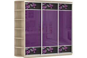 Большой шкаф-купе стекло-фотопечать - Мебельная фабрика «Е1»