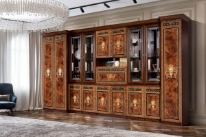 Большой шкаф в гостиную Карина 3 2 - Мебельная фабрика «Ярцево»