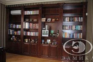 Большой шкаф-витрина - Мебельная фабрика «Элмика»