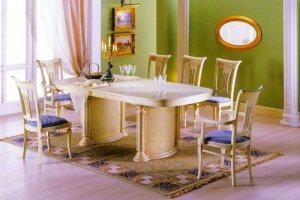 Большой стол и стулья - Мебельная фабрика «Агата»
