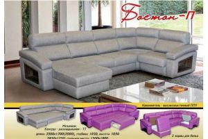 Большой угловой диван Бостон П - Мебельная фабрика «Новый Стиль»