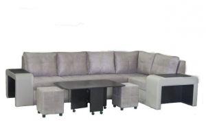 Большой угловой диван Квадро-2 - Мебельная фабрика «Норма»