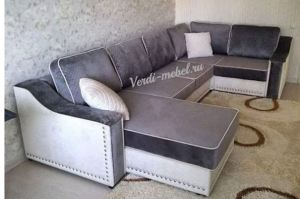 Большой угловой диван Латте - Мебельная фабрика «Верди»