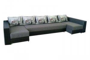 Большой угловой диван Сицилия - Мебельная фабрика «Мир Комфорта»