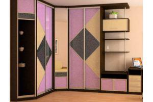 Большой угловой шкаф-купе - Мебельная фабрика «Удобна»