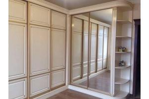 Большой угловой шкаф-купе - Мебельная фабрика «Мебелина»