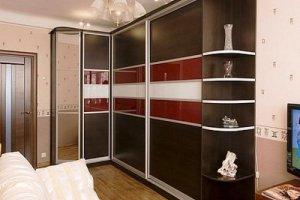 Большой угловой шкаф-купе в гостиную - Мебельная фабрика «Архангельская мебельная фабрика»