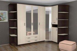 Большой вместительный угловой шкаф - Мебельная фабрика «Мебель Мастер»