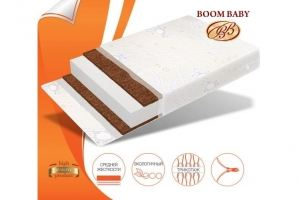 Матрас Boom Baby Кокос зебра 12 - Мебельная фабрика «Бум Бэби»