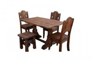 Брашированные Стол и стулья  - Мебельная фабрика «Квинта»