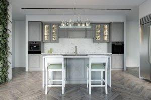 Кухня прямая Bridge 1 color - Мебельная фабрика «Энгельсская (Эмфа)»