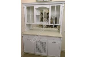 Буфет белый в классическом стиле - Мебельная фабрика «Корпус»