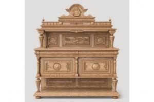 Буфет из натурального дерева - Мебельная фабрика «Суздальская»