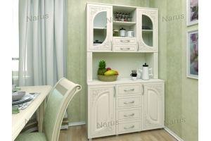 Буфет на кухню белый 6 - Мебельная фабрика «НАРУС»