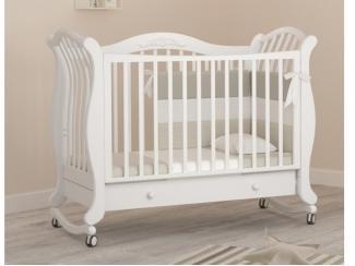 Детская кроватка-качалка Гандылян Габриэлла люкс - Мебельная фабрика «Гандылян»