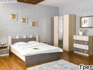 Спальня Гретта 1 - Мебельная фабрика «Элна»