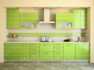 Зеленая кухня Виолетта - Мебельная фабрика «Бастет»