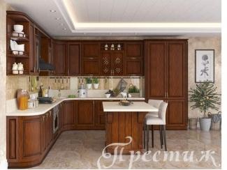 Кухня из массива дерева LITIZIA  - Мебельная фабрика «Престиж»