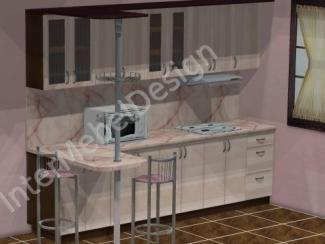 Кухонный гарнитур прямой - Мебельная фабрика «ИнтерМебельДизайн»