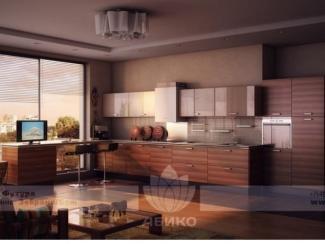 Кухня Футура Зебрано - Мебельная фабрика «Абико»