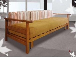 Диван прямой Пекин из массива бука - Мебельная фабрика «Бис»