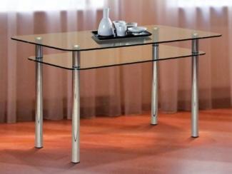 Стол обеденный из стекла 1 - Мебельная фабрика «Версаль»