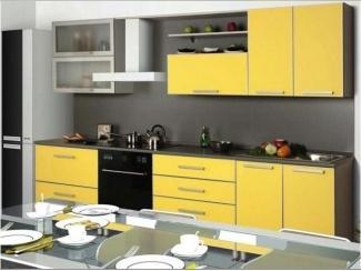 Кухня из яркого пластика Эстель-1 - Мебельная фабрика «RoMari»