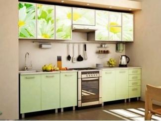 Прямая кухня Герда с фотопечатью - Мебельная фабрика «Манго»