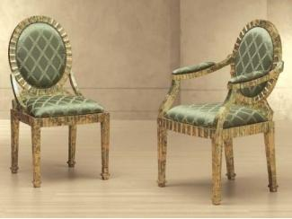 Зеленый стул Fole - Импортёр мебели «Spazio Casa»