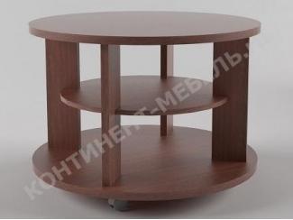 Круглый журнальный стол 5 - Мебельная фабрика «Континент-мебель»
