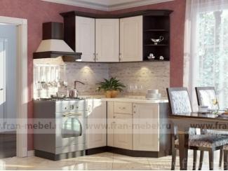 Кухня с полками Беларусь угловая  - Мебельная фабрика «Фран»