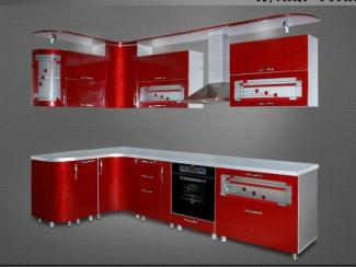 Кухня угловая Гранат - Мебельная фабрика «Нильс»