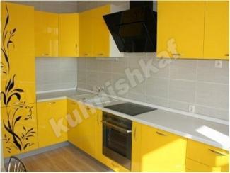 Желтая кухня - Мебельная фабрика «Kuhnishkaf»