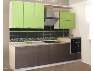 Прямая кухня Фиалка  - Мебельная фабрика «Виктория»