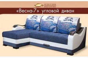 Угловой диван Весна 7 - Мебельная фабрика «Идиллия»