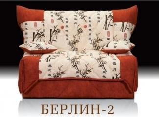 Маленький диван без подлокотников Берлин 2 - Мебельная фабрика «Альянс-М»