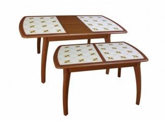 Стол Альба инкрустация-плитка - Мебельная фабрика «Древпром»