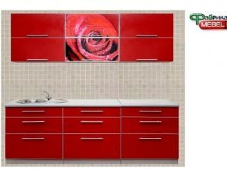 Кухня прямая Роза - Мебельная фабрика «Мебелин», г. Майкоп