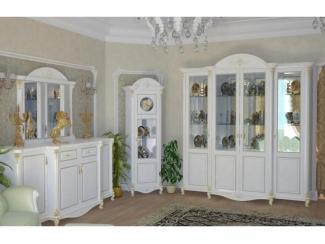 Белая гостиная Да Винчи 1 - Мебельная фабрика «Мэри-Мебель»