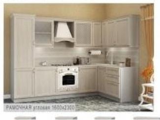 Кухня рамочная угловая - Мебельная фабрика «Боровичи-мебель»