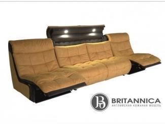 Модульный диван Форо с реклайнером - Мебельная фабрика «Британника»