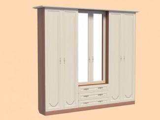 Шкаф 6-ти дверный Суоми-1 - Мебельная фабрика «Мистер Хенк»