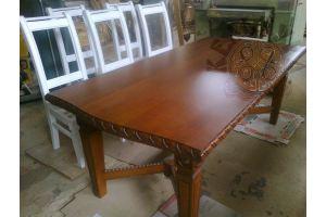 Стол из дерева - Мебельная фабрика «Эксклюзивная мебель из дуба Кельтура»